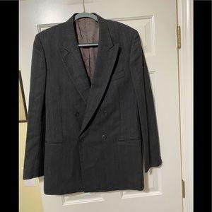 Mani Giorgio Armani designer wool suit jacket M